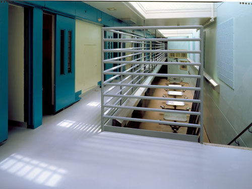 stonshield flooring in prison facility
