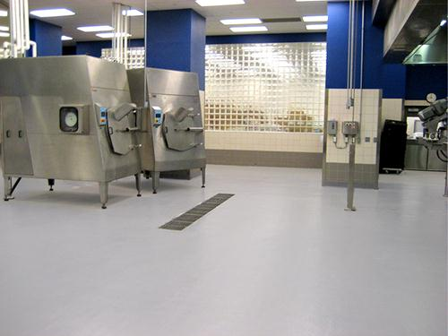 stonshield flooring in nutrition center