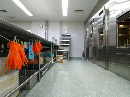 stontec flooring in pharmaceutical facility