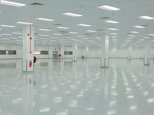 ... Stonlux Epoxy Flooring In Production Area Facility