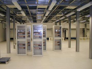 stonlok pvc flooring in server room