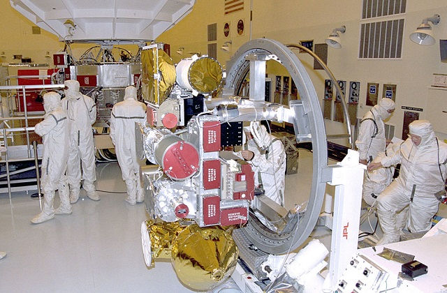 stonlux esd flooring in nasa laboratory