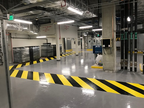 hospital mechanical room - Stongard MR with Stonkote GS4 black and yellow safety stripes.jpeg